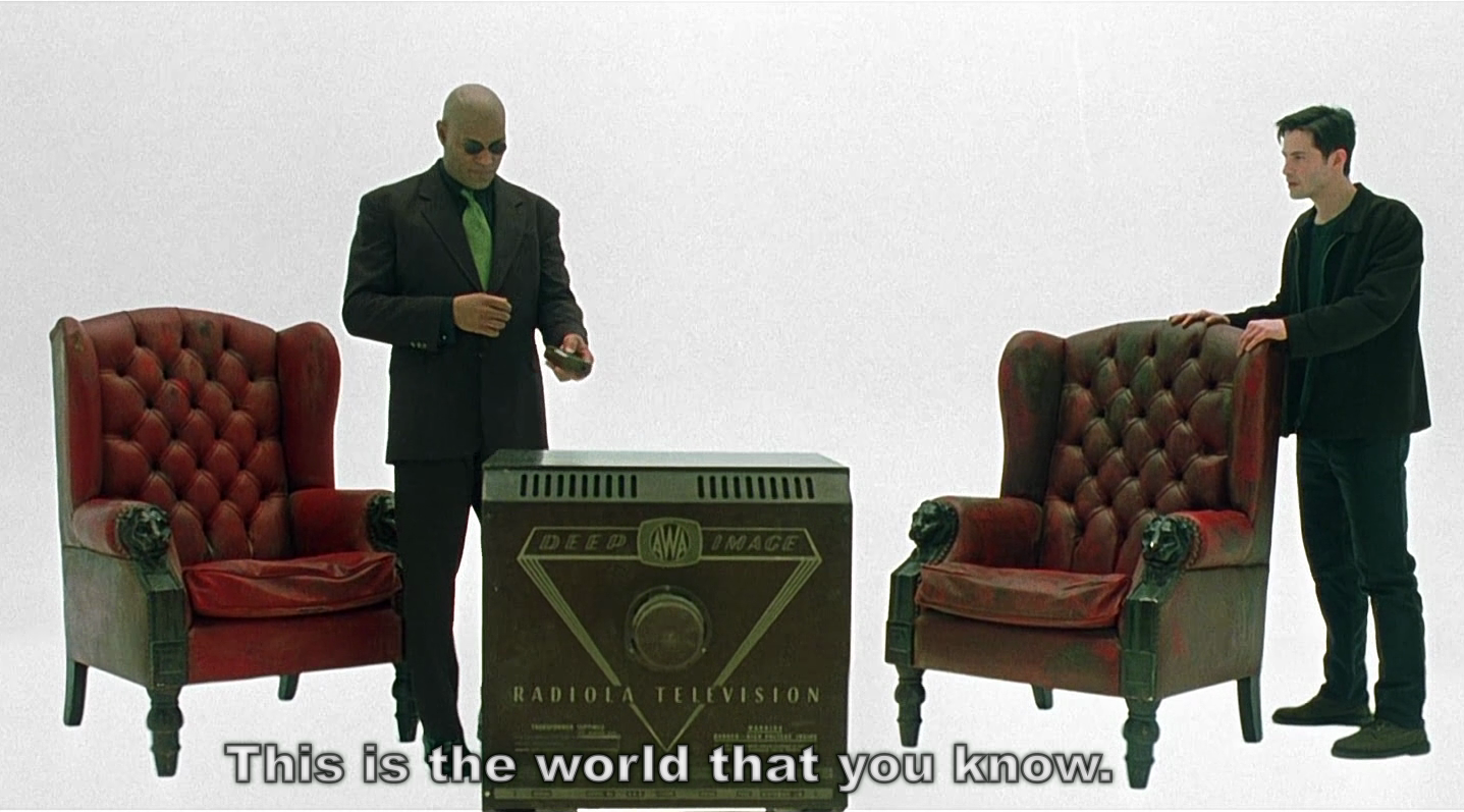 postmodernism and the matrix Postmodernism and the bible 1 introduction  the word postmodernism has become so pass  movies like the matrix have called even that conclusion into question .